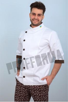 """Китель повара мужской """"Карамель"""""""