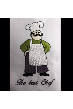 "Вышивка ""The best Chef"""