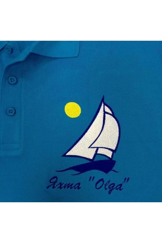 "Вышивка Яхта ""Olga"""