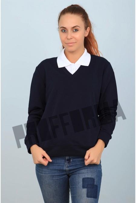 Пуловер для персонала женский