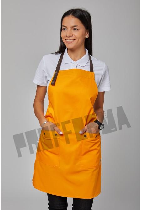 "Фартук для персонала ""Апельсин"""