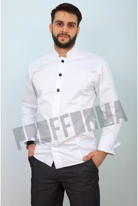 Мужской китель-рубашка для повара «Инвайт»