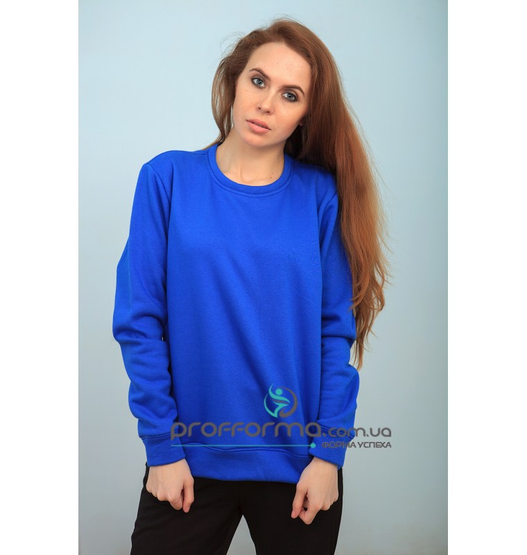 Реглан женский синий
