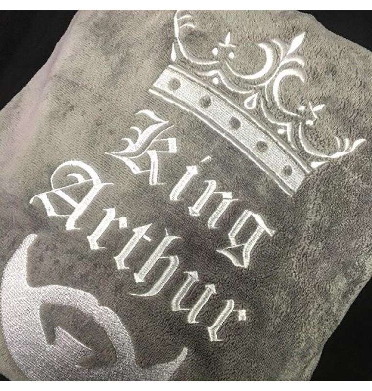 Вышивка на халате -3