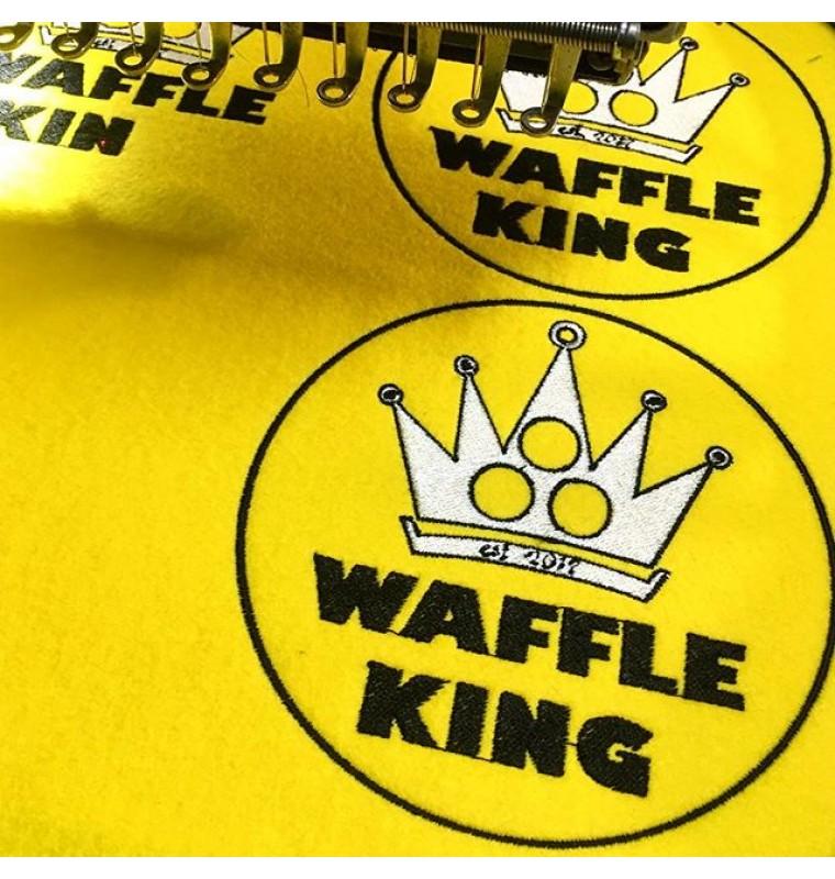 """Шеврон """"Waffle king"""""""